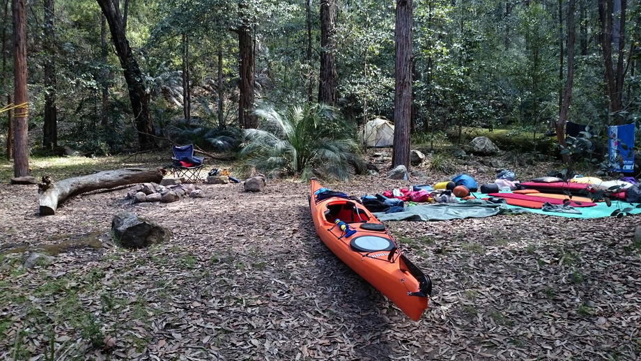 Bundanoon Creek - walk and kayak