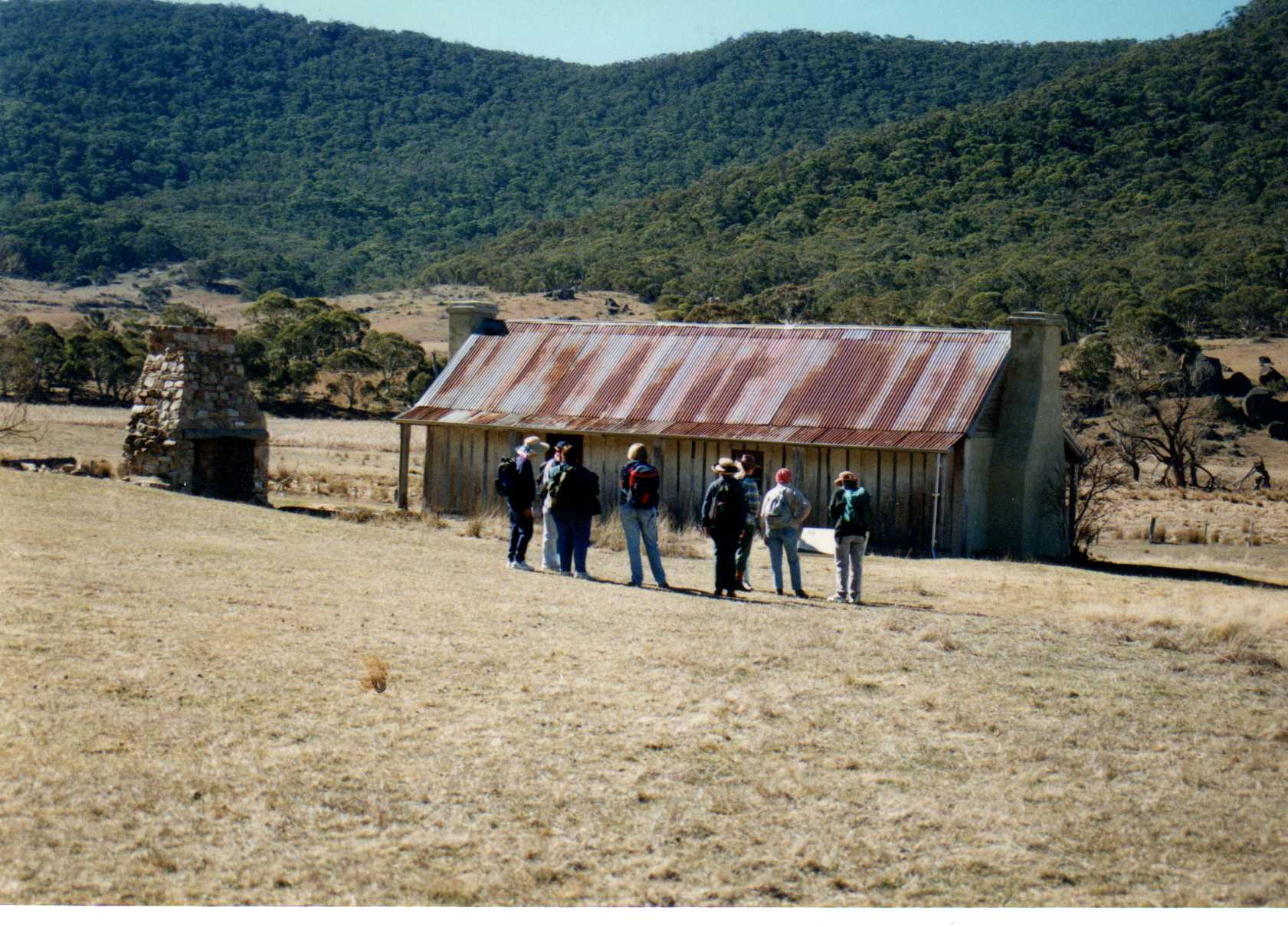 A walk through history in the Orroral Valley