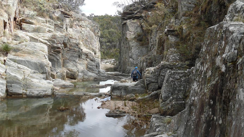 Spring Creek Gorge adventure