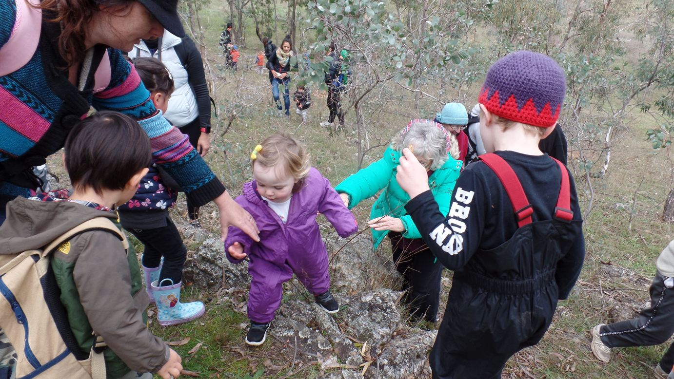Toddlers Toddle - Red Hill glades