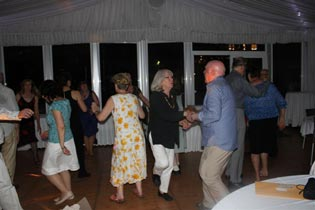Dancing at the 50th anniversary dinner