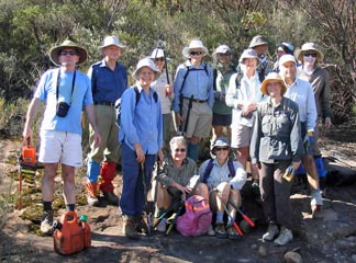 Folly PoInt track clearing team 2007
