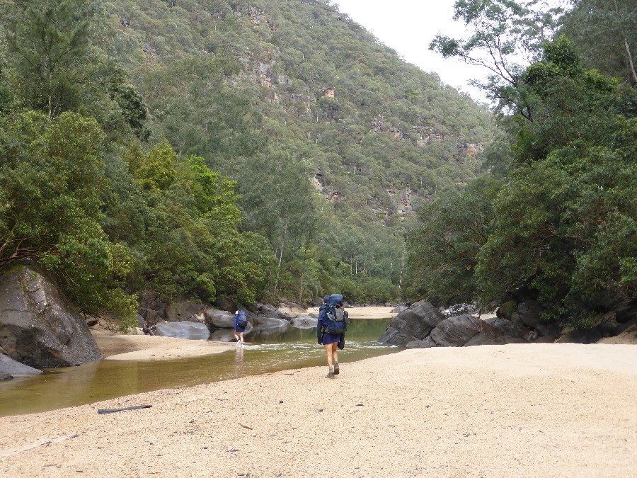 Colo River below Canoe Ck, Wollemi NP, by Ian Hickson