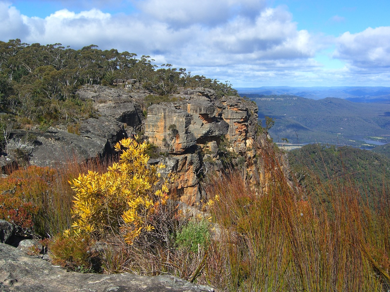 View towards the Shoalhaven River from Mt Carrialoo