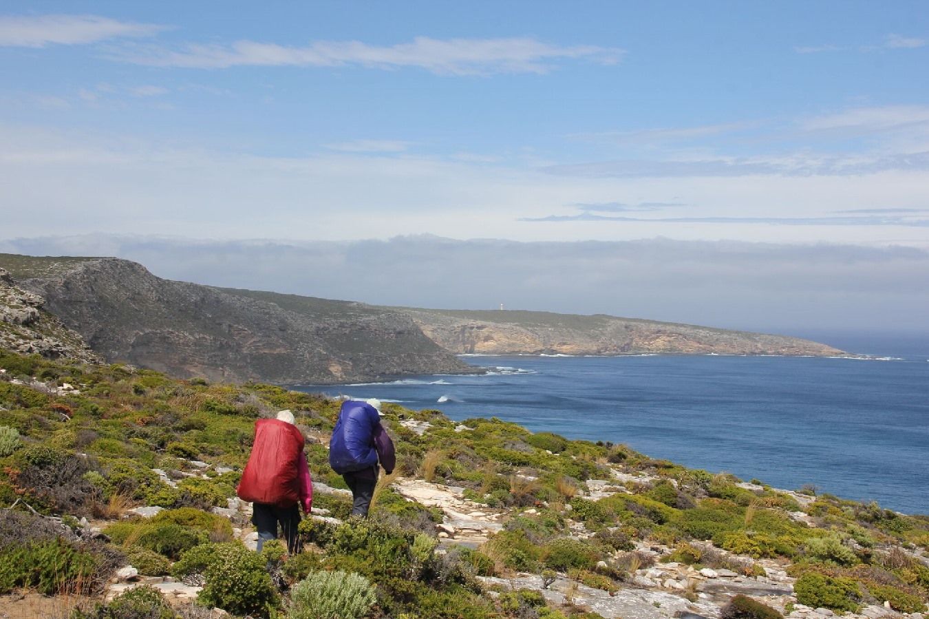 Maupertuis Bay, Kangaroo Island Wilderness Trail, looking to Cape Du Couedic, by Mike Smith