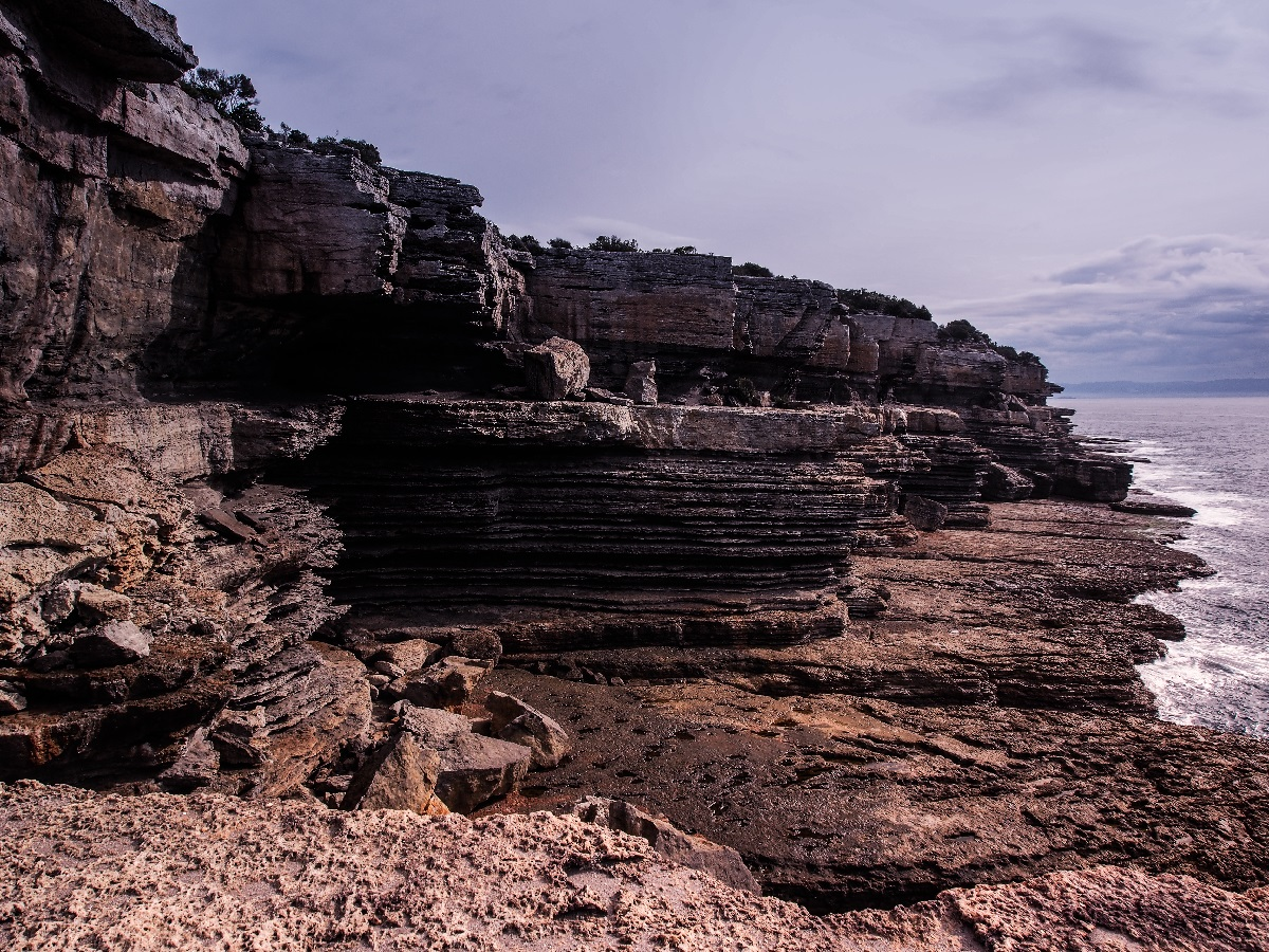 Cliffscape, Abrahams Bosom Reserve, by Ross Andrews